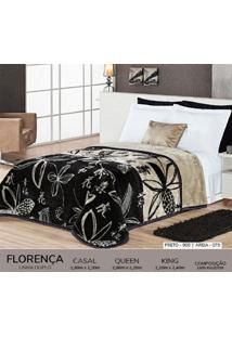 Cobertor Casal Dupla Face Duplo - Florença