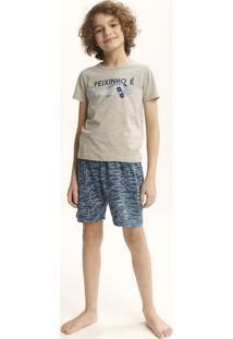 Pijama Infantil Menino Com Estampa Tal Pai Tal Filho