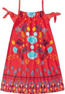 Vestido Ciganinha Menina Malwee Kids