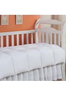 Edredom 100% Pena De Ganso-Baby-120X140-Branco