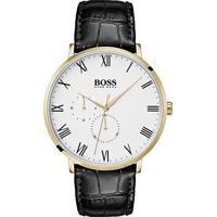 199439504d5 Relógio Hugo Boss Masculino Couro Preto - 1513620