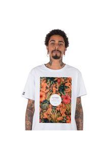 Camiseta Masculina Stoned Flowery Women