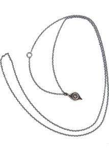 Werkstatt:München Chain Eye Necklace - Metálico