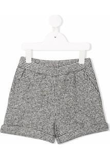 Douuod Kids Fleece Shorts - Cinza