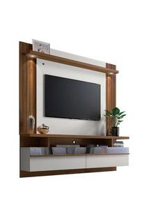 Painel Home P/ Tv Até 60 Pol. Sáo Luis 1.8 Off White/Nogueira Linea Brasil