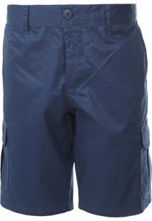Bermuda Colcci Cargo Color Azul-Marinho - Azul Marinho - Masculino - Algodã£O - Dafiti