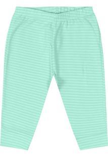 Calça Infantil Unissex Verde