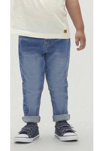Calça Menino Em Jeans Skinny Cós Regular Toddler