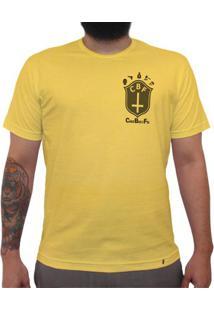 Cbf (Brasão Preto) - Camiseta Clássica Masculina