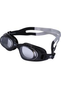 Óculos De Natação Speedo Tornado - Adulto - Preto/Branco