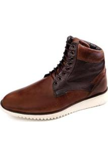 Bota The Box Project Baska Masculina - Masculino-Café