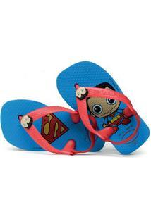 Chinelo Infantil Super Homem Havaianas 0212