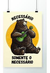 Poster Somente O Necessário