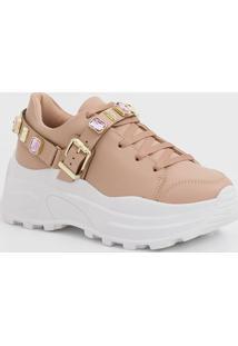 Tênis Feminino Chunky Sneaker Pedraria Renata Mello