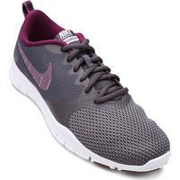 82b6cbc4703de Tênis Nike Flex Essential Tr Feminino - Feminino-Cinza