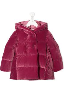 Il Gufo Quilted Jacket - Rosa