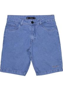 Bermuda Simple Skateboard Jeans Raw