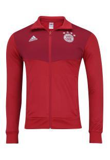 Jaqueta Bayern De Munique 3S 18/19 Adidas - Masculina - Vermelho