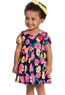 Vestido Infantil Kyly Meia Malha 110007.4372.2