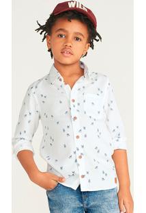 Camisa Infantil Menino Com Linho