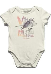 Passarinho Madalena - Body Infantil