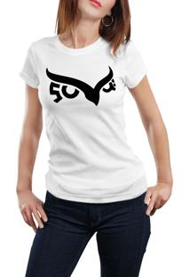 Camiseta Hunter Coruja Branca