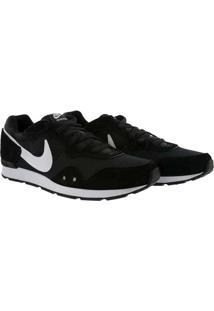 Tênis Nike Venture Runner Com Recortes Preto Branc