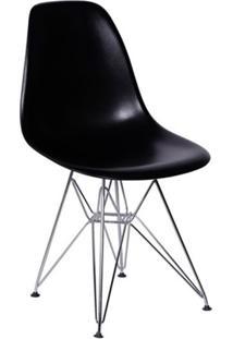 Cadeira Eames Iv Preta
