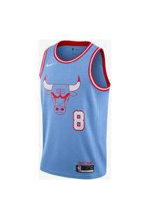Regata Nike Zach Lavine Bulls City Edition Masculina