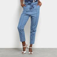 00ea3fc44 Calça Jeans Clochad Maria Filó Feminina - Feminino-Azul