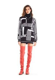 Jaqueta Bomber Tricot Girl Power Off White - M