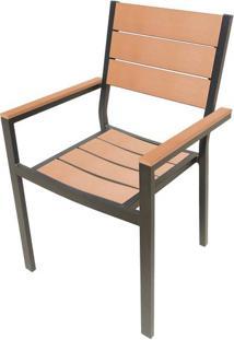 Cadeira Palmeira Amendoa Polywood 89 Cm (Alt) - 43502 - Sun House