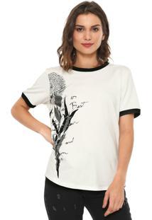Camiseta Forum Floral Off-White