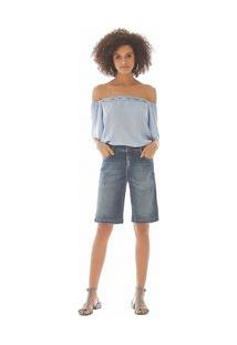 Bermuda Slim Essential Jeans 40