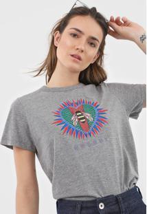 Camiseta Colcci Estampada Cinza - Kanui