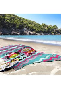 Toalha De Praia / Banho Coruja