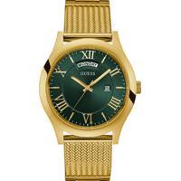 ff989e476b6 Relógio Guess Masculino Aço Dourado - W0923G2
