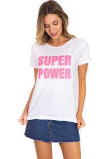T-Shirt Beautifull Hit Super Power Branca