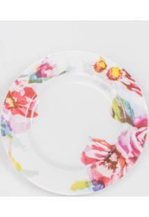 Prato Para Sobremesa Porcelana Schmidt - Dec. Giovana