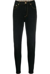 Escada Sport Faded Slim Jeans - Preto