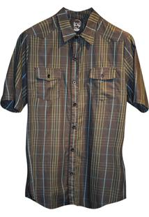 Camisa Macchina Lab Listrada Bolso Listrada Chumbo Verde