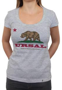 Ursal - Camiseta Clássica Feminina