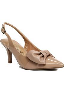 24a0c1e88 Sapato Chanel Feminino Vizzano Nude