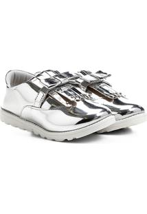 Sapato Klassipé Infantil - Feminino-Prata