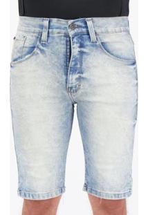 Bermuda Jeans Hd Sour Especial Masculina - Masculino-Azul