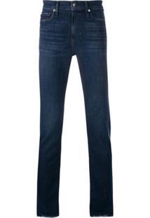 Frame L'Homme Slim-Fit Jeans - Azul