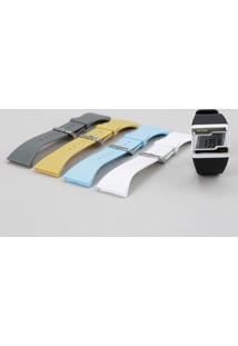Relógio Digital Mormaii Troca Pulseiras Feminino - Fzca/8C Branco - Único