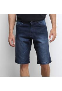 Bermuda Jeans Okdok Regular Masculina - Masculino