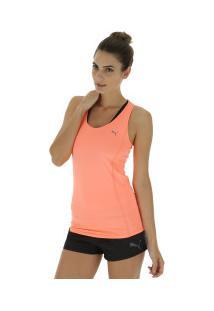 74c2afeb6a Camiseta Regata Puma Essential Layer - Feminina - Coral