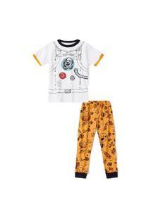 Pijama Tigor T. Tigre Infantil - 10208481I Branco